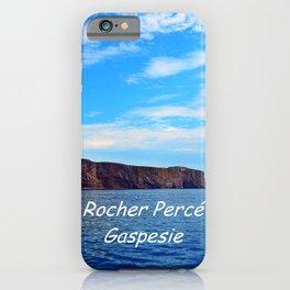 Perce Gaspesie Edition Speciale iPhone Case