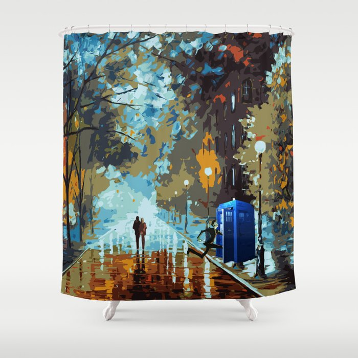 Doctor Who Shower Curtain By Eastblue