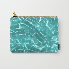 Abstract Water Design Carry-All Pouch