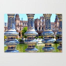 Glimpse of Spain Canvas Print
