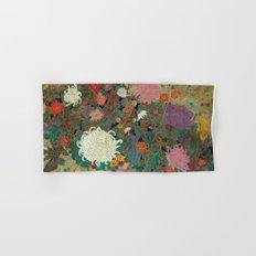 flower【Japanese painting】 Hand & Bath Towel