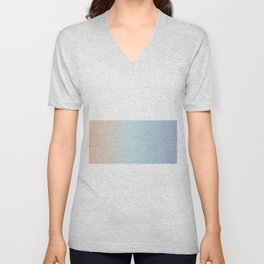 Sunset Ombre Unisex V-Neck