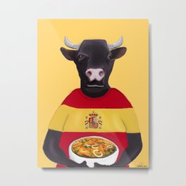 The Spanish Metal Print