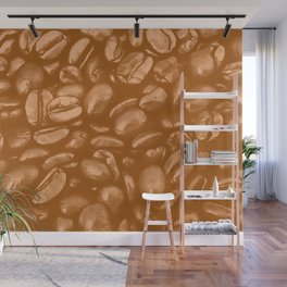 roasted coffee beans texture acrcb Wall Mural