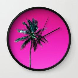 Palm Tree PR Wall Clock