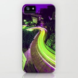 San Francisco California Lombard Street iPhone Case
