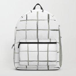 waterocolor windowpane Backpack