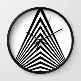 pyramid abstract Wall Clock