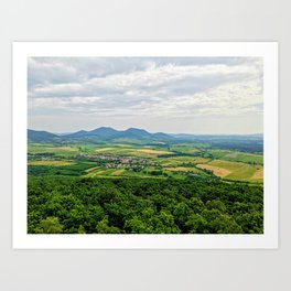Hungarian Country Side Art Print