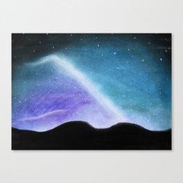 Pastel Starry Night Canvas Print