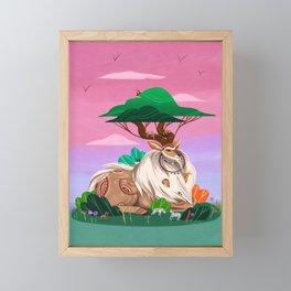 Shade Parade Framed Mini Art Print