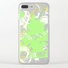 Gentrification FRESH WHITE COLLAR SCENT Clear iPhone Case