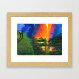 Witnesses Framed Art Print