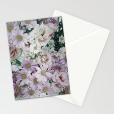 Bouquet pastel lilacs and pinks Stationery Cards