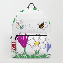 Spring time Backpack