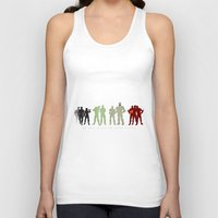 pacific rim Tank Tops featuring Pacific Rim: We Believed in Each Other by MNM Studios