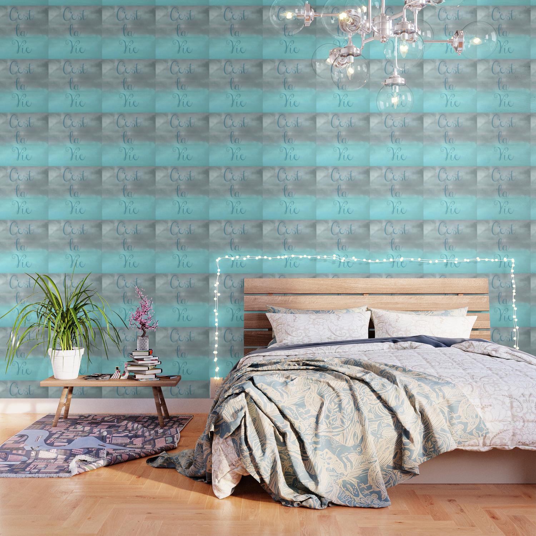 C Est La Vie Wallpaper By Angiemahoney Society6