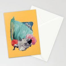 your cheeks are flush like rose petals Stationery Cards