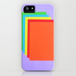 Colorful Paper iPhone Case