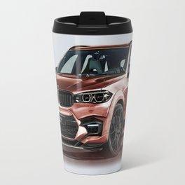 Bavarian car X5 by Artrace Travel Mug