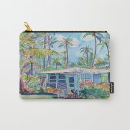 Kauai Blue Cottage 2 Carry-All Pouch