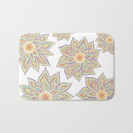 Floral Rhythm Bath Mat