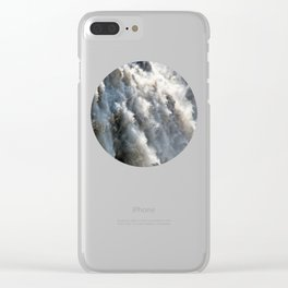 Crushing Down Clear iPhone Case
