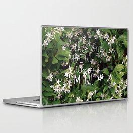 elegance is in the mind Laptop & iPad Skin