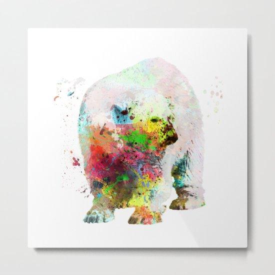 Bear painting Metal Print