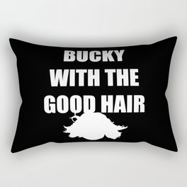 BUCKY WITH THE GOOD HAIR Rectangular Pillow