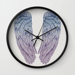 Angel Wings Wall Clock