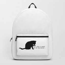 Nosey Cat Backpack