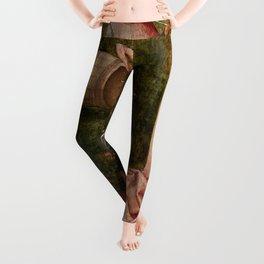 """Hieronymus Bosch """"Allegory of Gluttony"""" Leggings"""