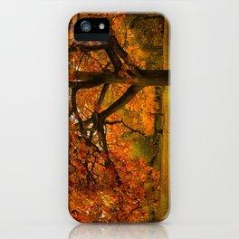 Red Oak Tree iPhone Case