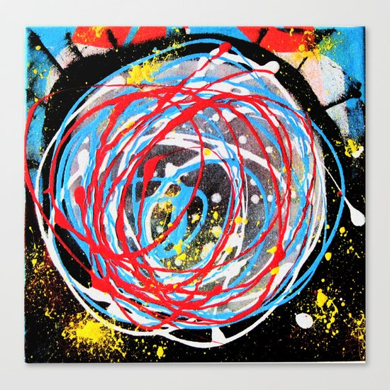 Universo Canvas Print