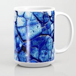 BLUE STONE CRACKS Coffee Mug