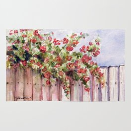 Roses: Over the Top Rug