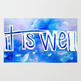 It Is Well Rug