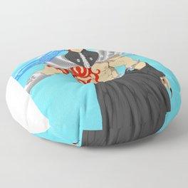 The Last Warrior Floor Pillow