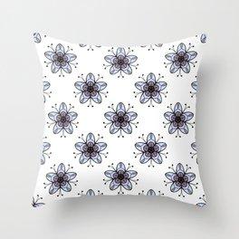 Ditsy Print Throw Pillow