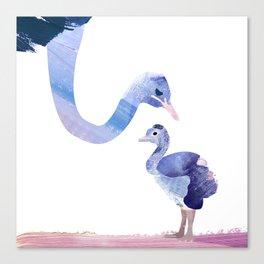 Fuzzy Love Canvas Print