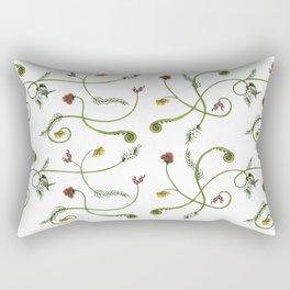 NZ Foliage - White Rectangular Pillow