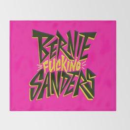 Bernie Sanders Throw Blanket