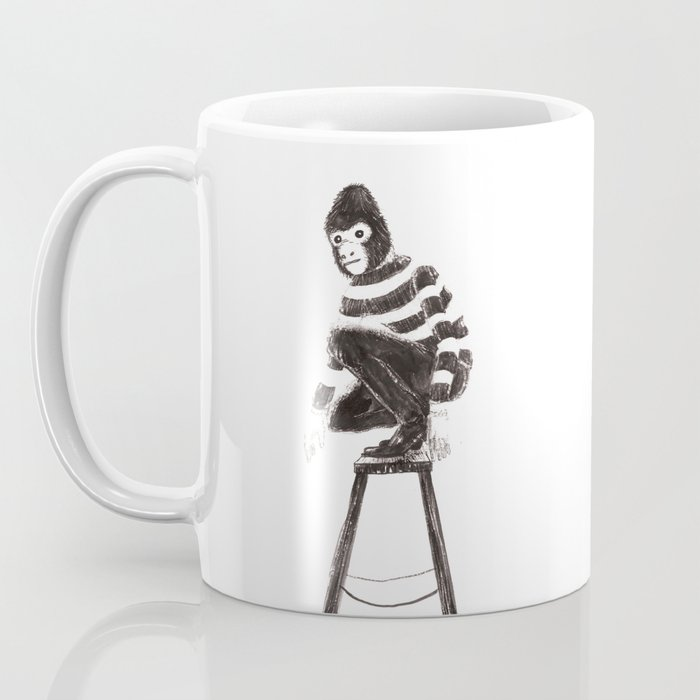 Monkey stairway Coffee Mug