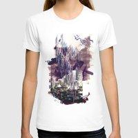 milan T-shirts featuring street milan by Gabriele Omar Lakhal