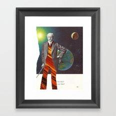 Professor OrangePants Framed Art Print