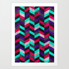 Geometric Mundo 2 Art Print