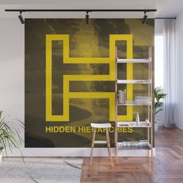 Hidden Hierarchies EP Cover Wall Mural