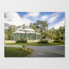 Palácio de Cristal Canvas Print