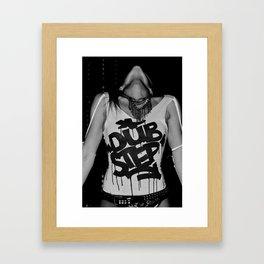 Dub Step. Framed Art Print